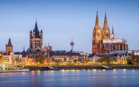 la regione destinazione dello scambio, Colonia