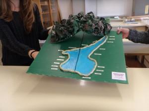 Plastici sulle origini del lago di Garda